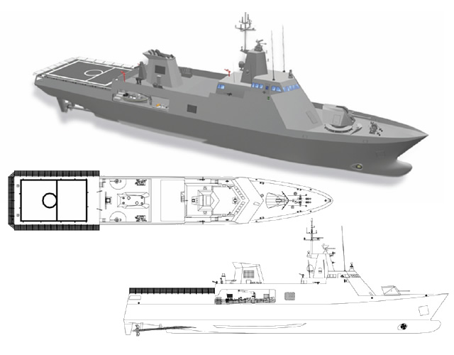 The Singapore shipyard ST Marine and Thales Nederland have signed a contract for the delivery and installation of sensors and a combat management system that will be installed on the four Al-Ofouq class patrol vessels that are to be built for the Sultanate of Oman.