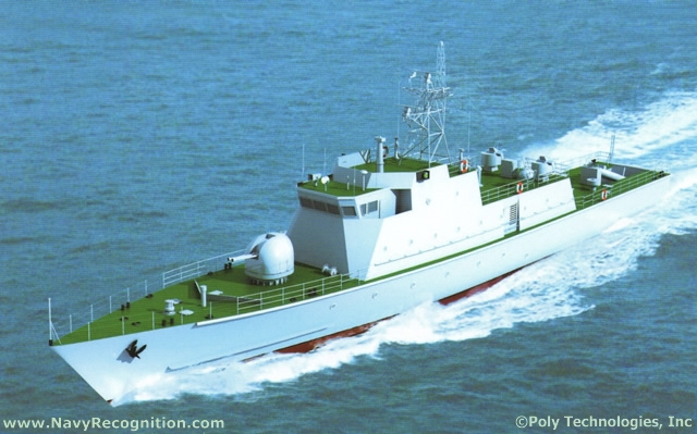 New Chinese made Patrol Boat of unknown type