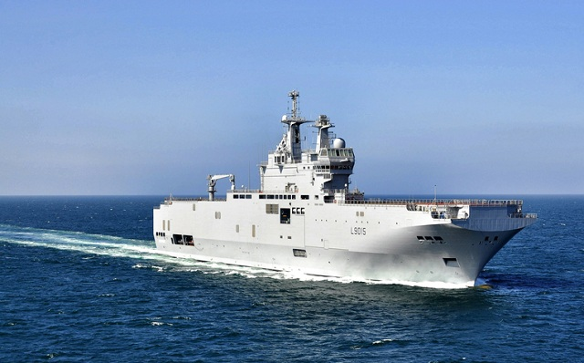BPC Dixmude, the third Mistral-class force projection and command vessel for the French Navy, has been delivered to the French defence procurement agency (DGA) three months ahead of the initial contract schedule. The DGA took formal delivery of the ship on 3 January 2012. This success is the result of outstanding cooperation between industry partners DCNS and STX France. The design, construction and testing of the vessel was conducted in close partnership with DGA and French Navy teams.