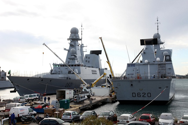 DCNS has signed a four-year contract with the French Navy's Fleet Support Service (SSF) to provide through-life support for Horizon-class destroyers Forbin and Chevalier Paul.