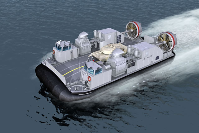 The U.S. Navy awarded on August 28 2014 a $21,9 million modification to a previously awarded contract for the construction of Landing Craft, Air Cushion (LCAC) 101 of the ship-to-shore connector (SSC) program.