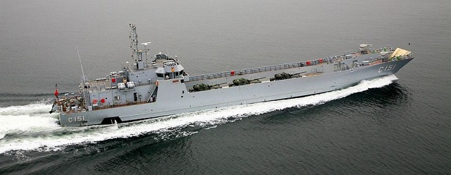 "Turkey put a fast amphibious military ship into service as a part of the ""Landing Craft Tank"" ( LCT) project, according to a report on Saturday. The semi-official Anatolia news agency reported that the C-151 was put to sea at the shipyard of Anadolu Tersanesi on March 9."