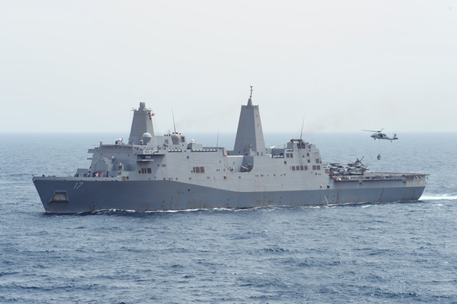 A sixth ship of the U.S. Navy is now located in the eastern part of the Mediterranean Sea, not far from the Syrian coast, where five destroyers of the U.S. Navy are already deployed.