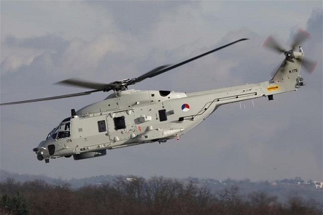 AgustaWestland, a Finmeccanica company, is pleased to announce that the Royal Netherlands Navy (RNLN) has taken delivery of a Mission Planning & Analysis System (MPAS) in the Final Operative Configuration for its fleet of NH90 NFH medium twin naval helicopters. This delivery of MPAS follows the one released into service in 2011 and it is aimed at both supporting new aircraft functionalities and implementing enhancements based on operational feedback from more than one year of RNLN in service experience.