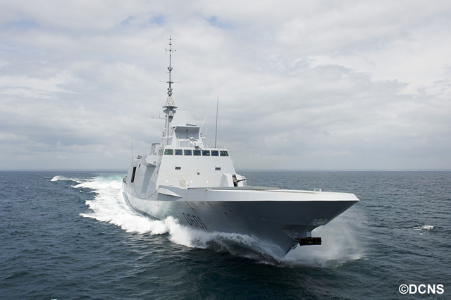 DCNS delivers multimission frigate Mohammed VI to Royal Moroccan Navy