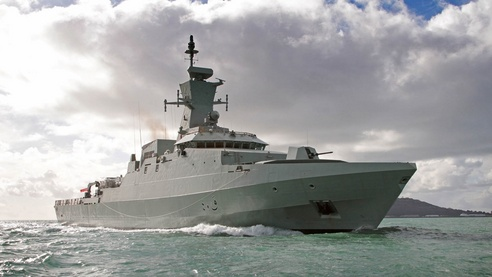 The Royal Navy of Oman on March 17th 2014 held a ceremony to mark the arrival of Al Rahmani vessel. Al Rahmani is the second of three 99 metres Khareef class corvettes built by BAE Systems for the Royal Navy of Oman.