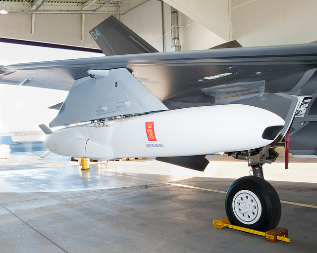 On 27 February 2013 Lockheed Martin carried out the first external fit check of the JSM on an F-35.