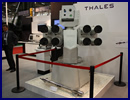 At the IDEF 2013 defense exhibition currently held in Istanbul, Turkey, Aselsan and Thales are showcasing a new gyro stabilized naval turret designed for small displacement ships.