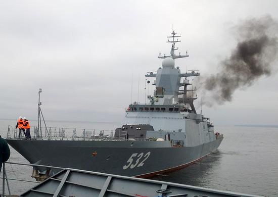 Russia's newest Baltic Fleet warship, the Project 20380 Boiky corvette, was handed over to the Navy on Thursday, a fleet spokesman said. The 20380 class, designed by the Almaz naval design bureau and built at St. Petersburg's Severnaya Verf shipyard, is optimized for antisubmarine and surface warfare and support for land operations. The class incorporates stealth technology, which has considerably reduced its radar and infrared signatures.