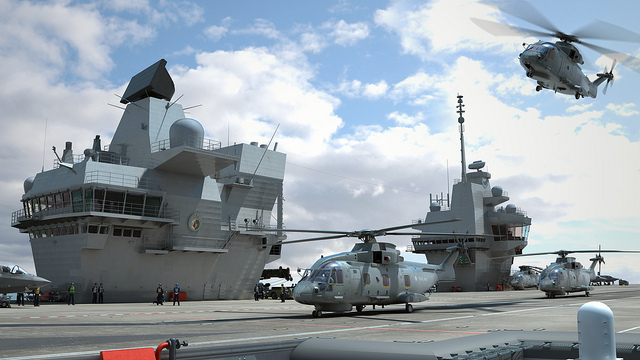 The Aircraft Carrier Alliance has today released new computer generated images showing in detail what the two ships will look like when fully operational. The new pictures have been developed by designers at the Aircraft Carrier Alliance and show the Queen Elizabeth Class ships – HMS Queen Elizabeth and HMS Prince of Wales - as they will look when in-service, complete with helicopters and the F-35B Joint Strike Fighter.