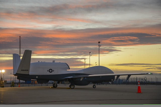 The U.S. Navy's second MQ-4C Triton unmanned aircraft system (UAS) has successfully completed its first flight. Operating out of a manufacturing facility in Palmdale, a Navy and Northrop Grumman flight test team conducted the 6.7-hour flight Oct. 15. The flight is a critical first step in preparing the aircraft to fly to a Navy facility in Maryland later this month.