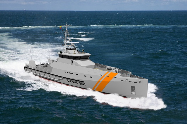 Damen has recently signed a contract with AstillerosNavalesEcuatorianos (Astinave) to construct two Damen SPa's 5009 for the Ecuadorian Coastguard. The Ecuadorian shipyard will build both vessels locally with Damen Technical Cooperation, which is Damen's method of 'building on site'.