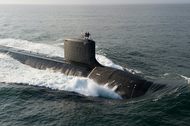 The U.S. Navy accepted delivery of PCU North Dakota (SSN 784), the 11th ship of the Virginia Class, on Aug. 29, two days prior to its contract delivery date. North Dakota is the first of eight Virginia Class Block III ships. Approximately 20 percent of North Dakota was redesigned as part of the Virginia Cost Reduction work done to lower acquisition cost and increase operational flexibility. The changes include a ship's bow redesign, replacing 12 individual launch tubes with two large-diameter Virginia Payload Tubes, each capable of launching six Tomahawk Cruise Missiles.
