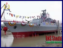 "A new corvette ordered by the Bangladesh Navy was delivered on November 30th at the China Shipbuilding & Offshore International Company (CSOC)'s Wuchang Shipyard in Wuhan, China. CSOC is part of the part of the State Shipbuilding Corporation, China Shipbuilding Industry Corporation (CSIC). The corvette nammed Shadhinota (meaning ""Independent"") with hull number F111 is based on the Chinese Navy Type 056 Corvette (Jiangdao class)."