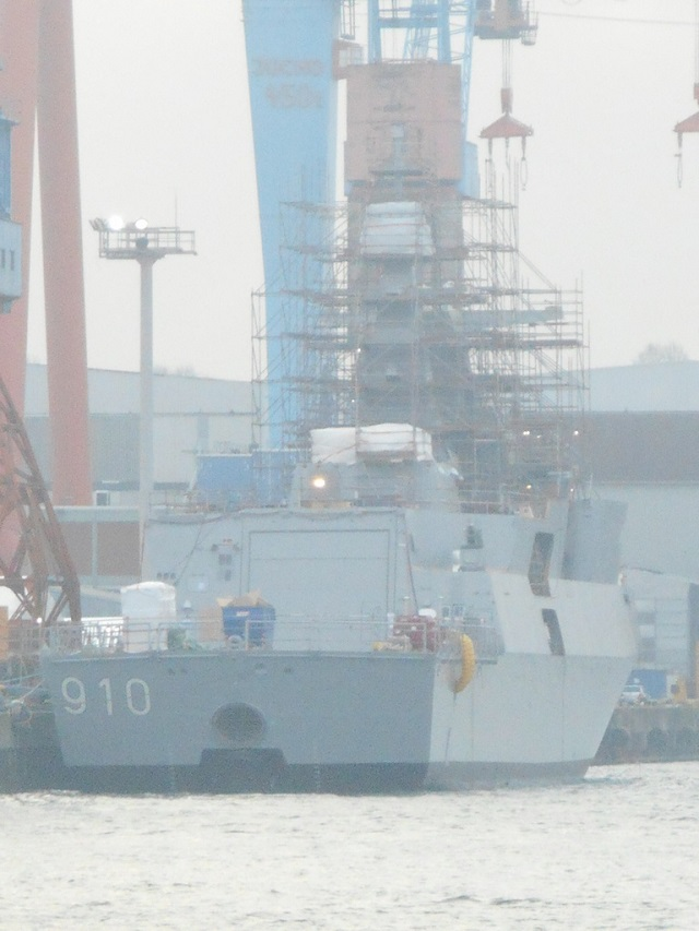 Germany's ThyssenKrupp Marine Systems (TKMS) launched in early December the first of two MEKO Frigates (designated MEKO A-200 AN) at a shipyard in Kiel. Algeria ordered two frigates (with an option for two more) in March 2012.