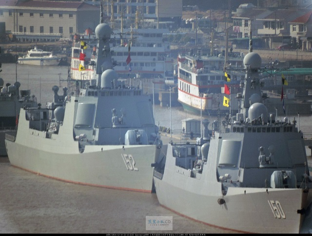 The Chinese Navy (PLAN) commissioned its fifth Type 052C Destroyer (Luyang II class) Jinan (hull number 152) on December 22nd according to the Chinese military official daily publication PLA Daily. Jinan is the fifth of six Type 052C Destroyers ordered by the PLAN. Meanwhile, the Type 052D Destroyer (Luyang III class) programme continues.