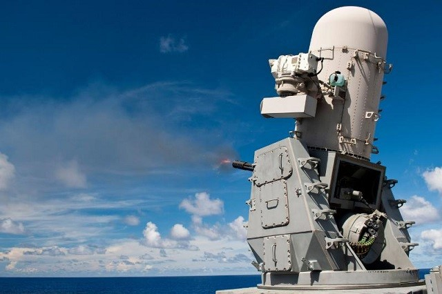 The U.S. Navy awarded Raytheon Company a $159.9 million contract to manufacture, inspect and test Phalanx Close-in Weapon Systems (CIWS). The contract, which provides for a $10 million option in FY15 and another valued at $291 million in FY16, includes support equipment for the Phalanx and SeaRAM Weapon Systems, Block 1B radar upgrades and kits for reliability, maintainability, and availability. The contract also covers overhaul of four Land-based Phalanx Weapon Systems.