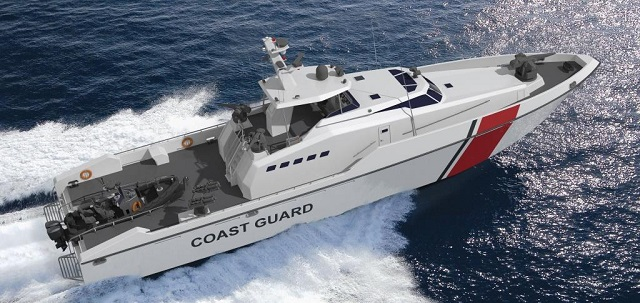 BMT Nigel Gee (BMT), a subsidiary of BMT Group, is pleased to announce its latest partnership with Ares Shipyard (Ares) to design and build seventeen patrol boats from advanced composites, for the Qatar Coastguard. This order comprises three different vessel sizes: five of 23 metres capable of speed in excess of 37 knots, 10 of 33 metres capable of achieving 30 knots and two of 46 metres also capable of 30 knots.