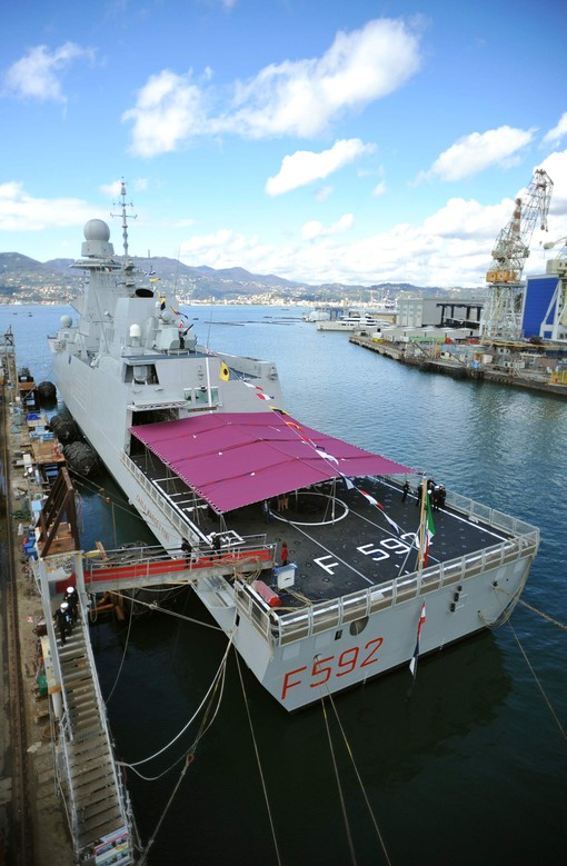 "On the 27th February 2014 in La Spezia shipyard, the third Italian frigate, named after the World War II Italian hero ""Carlo Margottini"", was delivered by OCCAR to the Italian Navy."