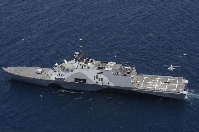 Northrop Grumman Corporation and the U.S. Navy successfully flew the unmanned MQ-8B Fire Scout simultaneously with the MH-60R Sea Hawk helicopter for the first time. The capability demonstrates how a mix of aircraft can increase a ship commander's intelligence-gathering capabilities aboard the Littoral Combat Ship.
