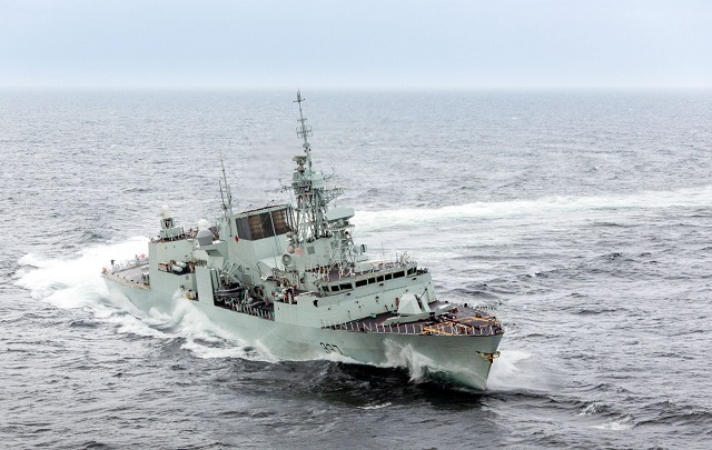 The first four of the Royal Canadian Navy's Halifax-class frigates have successfully completed modernization programs. The Halifax-class modernization/frigate equipment life extension (HCM/FELEX) is a $4.3 billion program to upgrade and enhance the existing fleet. The program has remained on budget and is scheduled to be completed by 2018.