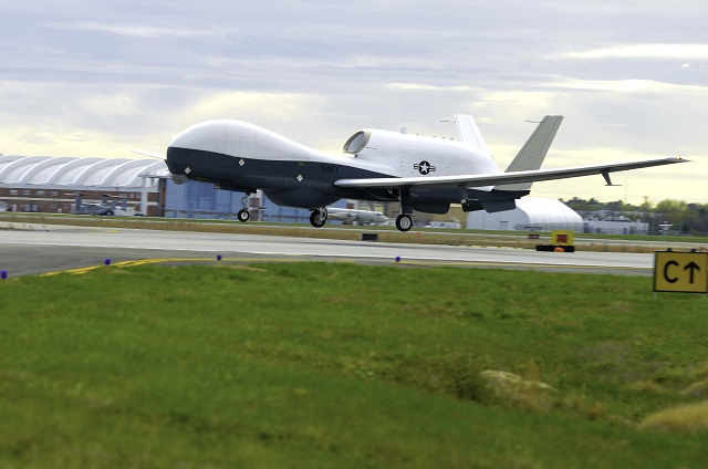 The U.S. Navy's MQ-4C Triton UAS equipped with a new search radar completed its inaugural flight April 18 over Patuxent River air space. The radar, known as the Multi-Function Active Sensor (MFAS), is expected to greatly enhance maritime domain awareness by providing the MQ-4C with a 360 degree view of a large geographic area while providing all-weather coverage to expedite detecting, classifying, tracking and identifying points of interest.