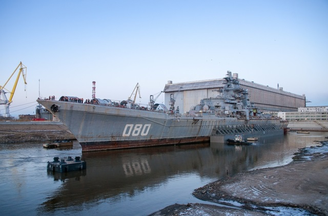 "Russia's largest shipbuilding company JSC PO ""Sevmash"" based in Severodvinsk has published the list of new equipment being ordered for the overhaul of Admiral Nakhimov. The list is probably accurate because it was published on a Russian government online B2B trading platform. Admiral Nakhimov is a Kirov class nuclear-powered missile cruiser (Project 1144.2)."