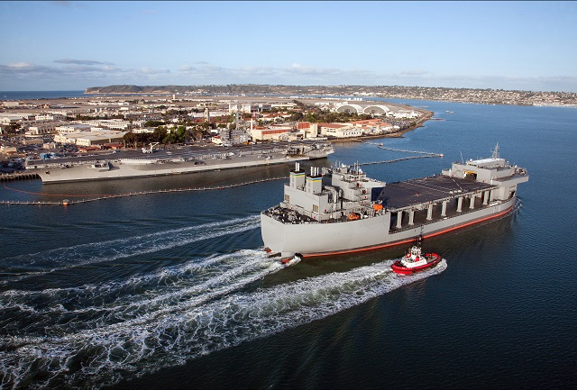 Today General Dynamics NASSCO, a wholly owned subsidiary of General Dynamics, began construction on the second ship of the U.S. Navy's newly reclassified Expeditionary Base Mobile (ESB) program.