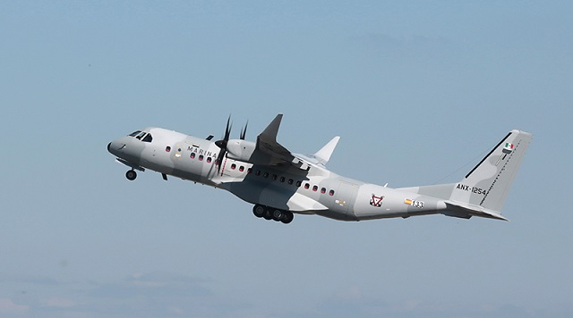 The Mexican Navy (Semar) has become the launch customer of the latest version of the market-leading Airbus C295 medium transport aircraft - the new C295W equipped with winglets.