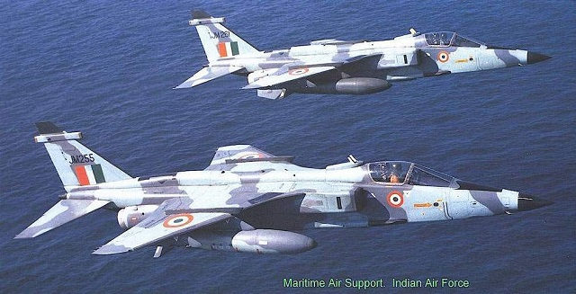 The Indian Air Force test fired an AGM-84L Harpoon anti-ship missile from a Jaguar IM maritime strike aircraft for the first time on May 22nd. The test was a success as the missile hit a pre-designated target in the Arabian Sea.