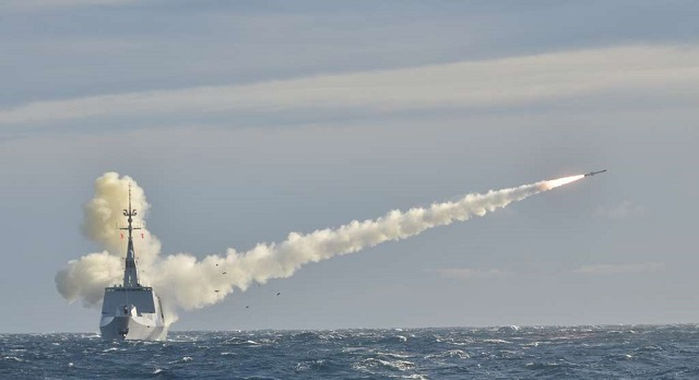 The French Navy announced its Lafayette class Frigate Surcouf (second ship of the class) launched an MBDA-made MM40 Block II Exocet anti-ship missile during a live fire test which took place on November 25 2015. The missile hit its target with high accuracy, showing the expertise of the French Navy to implement and maintain a complex weapons system for high-intensity conflict.