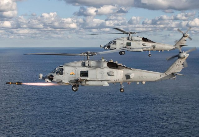 Taiwan's military yesterday confirmed that it is seeking to buy 10 MH-60R Seahawk anti-submarine warfare helicopters from the U.S. to replace its existing aging chopper fleet. Fielding questions during an interpellation session at the Legislative Yuan, Deputy Defense Minister Adm. Chen Yung-kang confirmed to lawmakers that the R.O.C. Navy is scheduled to purchase MH-60R Seahawk anti-submarine choppers.