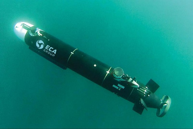 In early April 2016 has been an exciting one for ECA Group teams with a demonstration of its A9-M, a man-portable AUV dedicated to mine warfare. At the request of a foreign country Navy the ECA Group team has successfully demonstrated the operational effectiveness of the A9-M for mine-warfare operations.