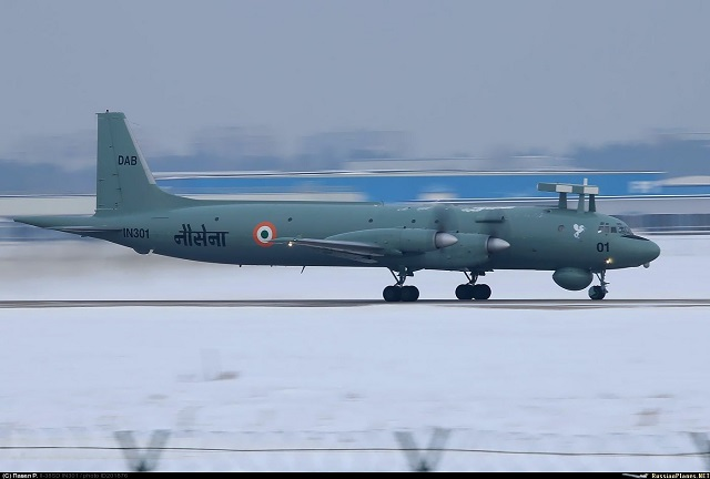 Indian Navy Il 38SD Maritime Patrol Aircraft