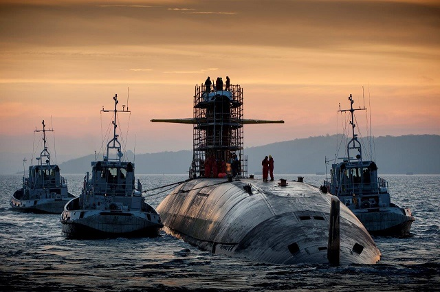 Le temeraire SSBN French Navy M51 upgrade DCNS 1