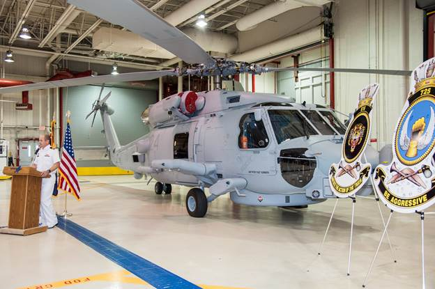 Lockheed Martin has delivered the 24th, and final, MH-60R SEAHAWK® helicopter to the U.S. Navy in support of the Navy's Foreign Military Sales (FMS) program with the Royal Australian Navy (RAN). The milestone delivery took place during a July 27 ceremony at Lockheed Martin's Owego, New York facility.