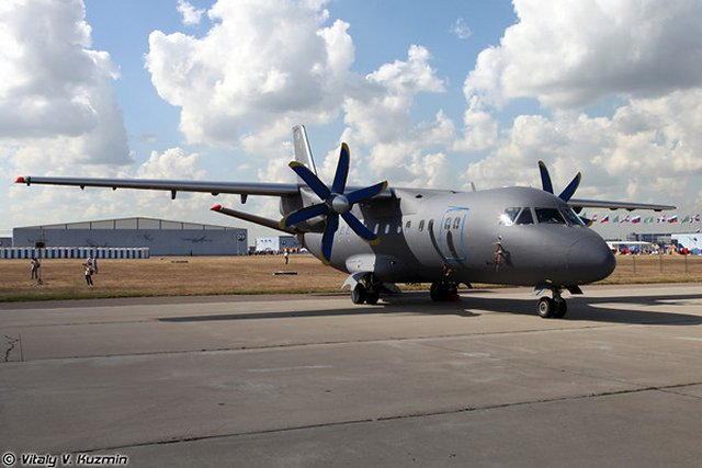 The Aviakor Aircraft-Manufacturing Enterprise in Samara in the Volga area, part of Russian Machines Corporation, has delivered a batch of Antonov An-140 transport planes to Russia's Navy, Russian Deputy Defense Minister Yuri Borisov said during a visit to the enterprise.