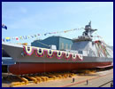 Daewoo Shipbuilding & Marine Engineering (DSME) launched the lead ship of the new Daegu-class FFX-II frigate for the Republic of Korea Navy (ROK Navy) on June 2, 2016. Key updates of the Batch II over the ASW-focused Batch I include VLS and full electric propulsion system, as well as a larger hangar that can accomodate a 10-ton helicopter (Batch-I has hangar for lighter helicopters like AW159).