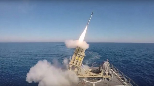 The Israeli Navy has taken the Iron Dome air defence system to the sea and recently completed a live test fire. The naval version of the system will be used to protect strategic assets at sea, such as oil/natural gas rigs. Israel's hydrocarbons fields and drilling installations in the East Mediterranean Sea have increased the requirements for security.