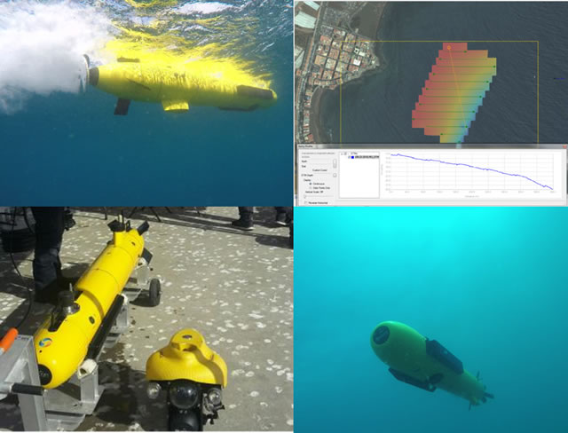 ECA Group A9 AUV SWARM