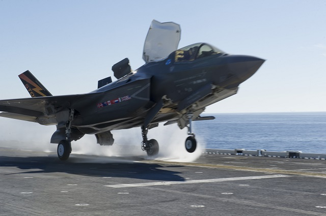 First F 35B Power Module Engine Swap on USS America 1