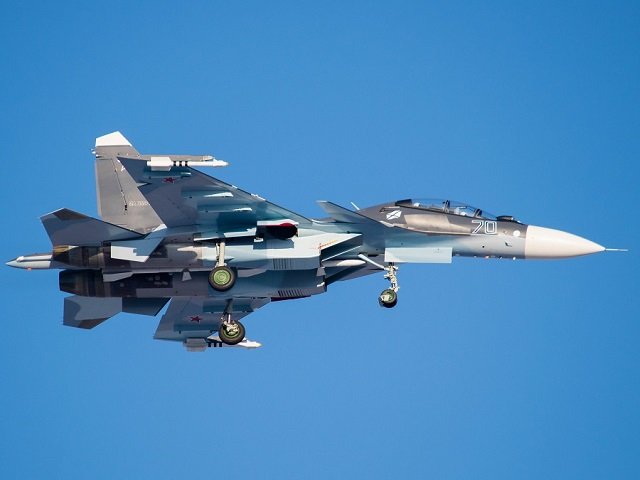 Su 30SM russian navy fighter aircraft irkut