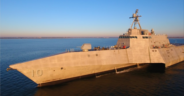 USS Gabrielle Giffords LCS 10 Completes Acceptance Trials