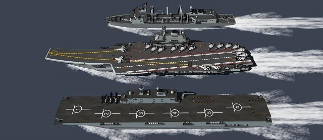 Type 075 LHD PLAN China 02