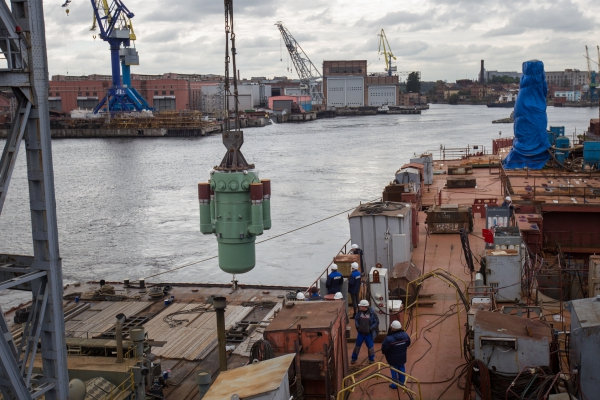 Russian defense contractor Baltic Shipyard - Shipbuilding (a subsidiary of the United Shipbuilding Corporation, USC) has completed the installation of the RITM-200 reactor system, having equipped the lead ship of the Project 22220 icebreaker family with the second of the two steam generator units, according to USC's press office.