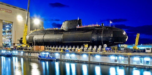 BAE Systems launched Audacious - the fourth Astute-class SSN Submarine for Royal Navy
