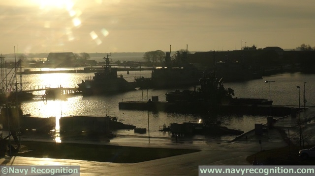 Swedish Navy naval base Karlskrona Saab 1
