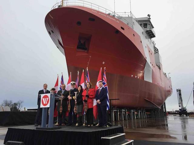 Thales celebrated the launch of the first Offshore Fisheries Science Vessel OFSV