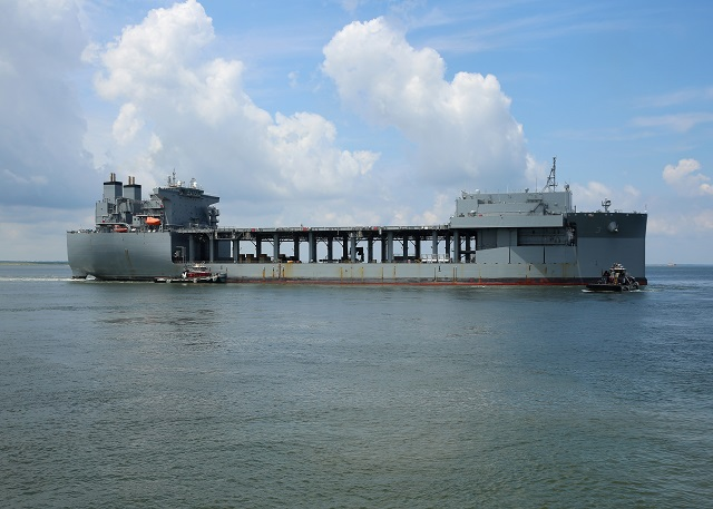 Expeditionary Sea Base USNS Lewis B Puller MSC 1