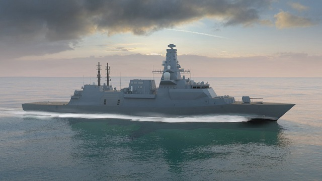 Manufacture Begins for First of Royal Navy City class Type 26 Frigates - HMS Glasgow